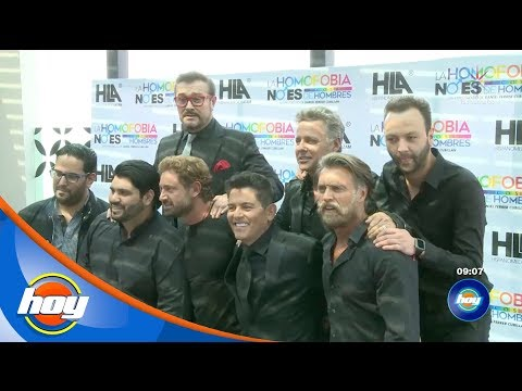 Galanes de televisión tocarán el tema de la homofobia en teatro   Hoy