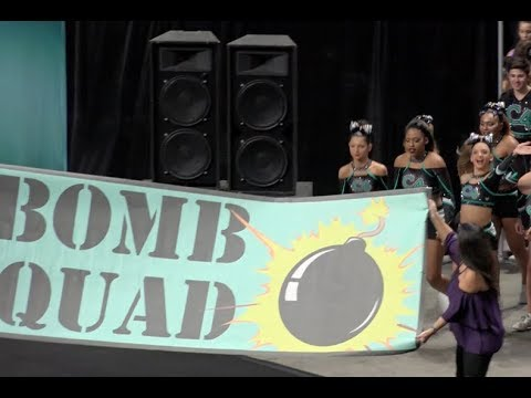 Cheer Extreme C4 Bomb Squad Showcase 2017