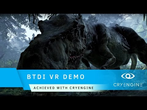 Back to Dinosaur Island VR Demo | Achieved with CRYENGINE