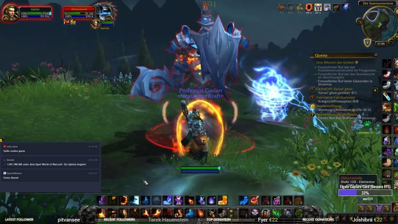 WoW Battle for Azeroth [040] Seemannsrinne Storykapitel - Sturmsangtal - World  of Warcraft Gameplay - YouTube