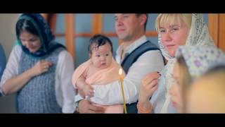 Крещение младенца в храме. Видео как проходит Крещение ребенка(