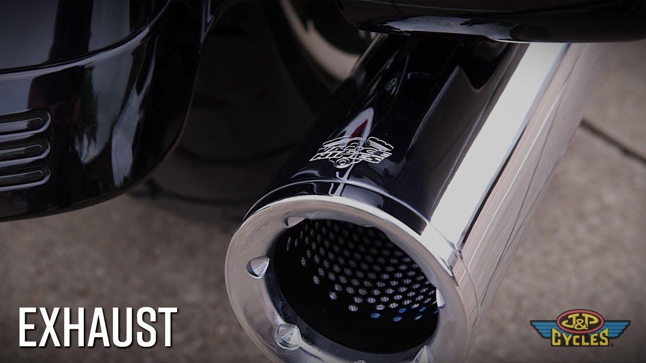 milwaukee eight street glide slip on exhaust sound comparison