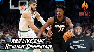 2020 Miami Heat vs Boston Celtics ECF | Game 1 Live Play-By-Play