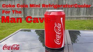 Coke Cola Mini Refrigerator/Cooler