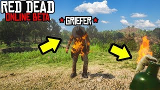 TEACHING GRIEFERS A LESSON in Red Dead Online! RDR2 Online How to Stop  Grifers!