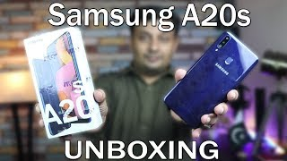 Samsung A20s Unboxing | 3gb ram 32gb rom