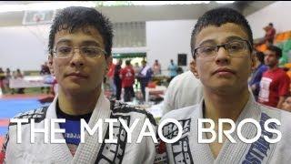 Crazy BJJ guards, berimbolos & reverse de la Riva: Miyao brothers tournament highlight
