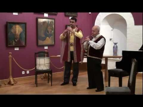 Քոռ աշուղի եռքը - (Песня слепого ашуга)(Музей Рериха)