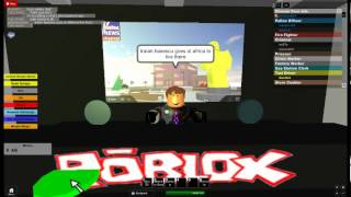 ROBLOX NEWS:traian baseescu goes to africa!
