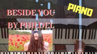 Phildel Beside You The Disappearance Of The Girl Piano Tutorial Synthesia