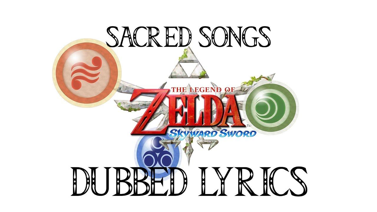 Skyward Sword Sacred Songs With Dubbed Hylian Lyrics Youtube