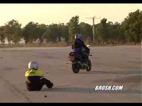 Drag &abrasion test of Brosh motorcycle clothing
