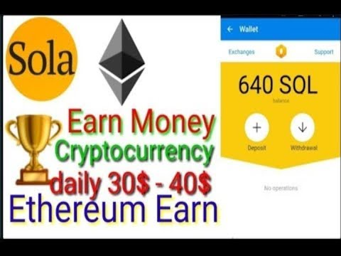 New app lunch earn $ 30 to 40 ethereum coin  non-investment