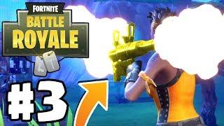 SOLO Vs SQUADS VICTORY ROYALE...!!! | Fortnite: BATTLE ROYALE #3