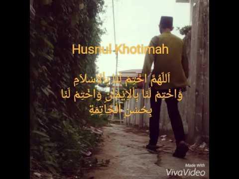Doa Doa Husnul Khotimah