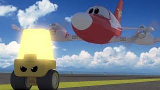 Мультфильмы - Будни аэропорта - Мои наставники фонарики (15 серия)