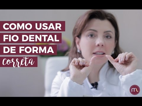 4aa4a2b5e Como usar o fio dental de forma correta  Descubra com a Dra. Marina Lara