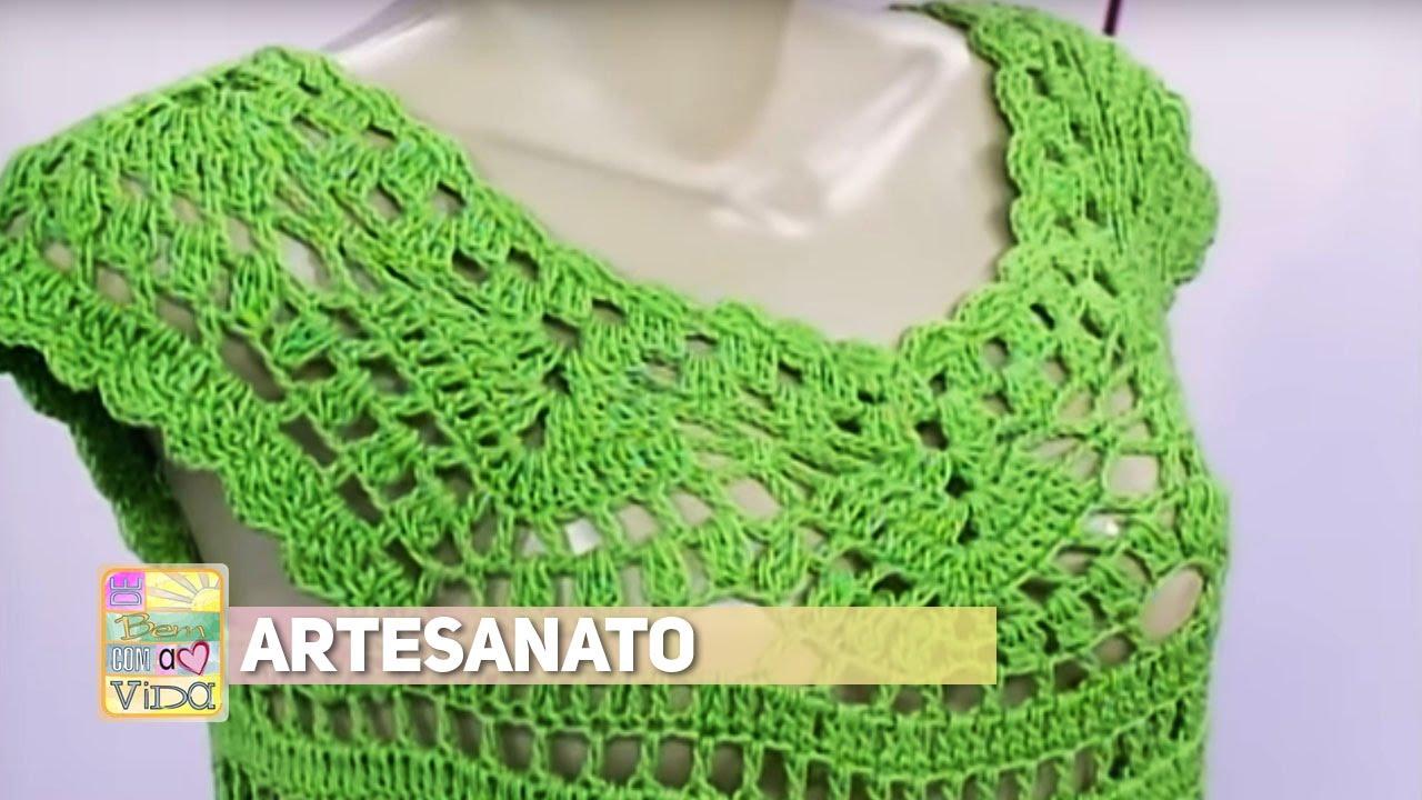 Artesanato Croche Historia ~ Artesanato Artes com croche YouTube