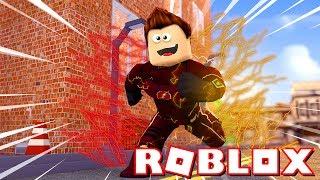 ROBLOX-I TURNED un supereroe!!