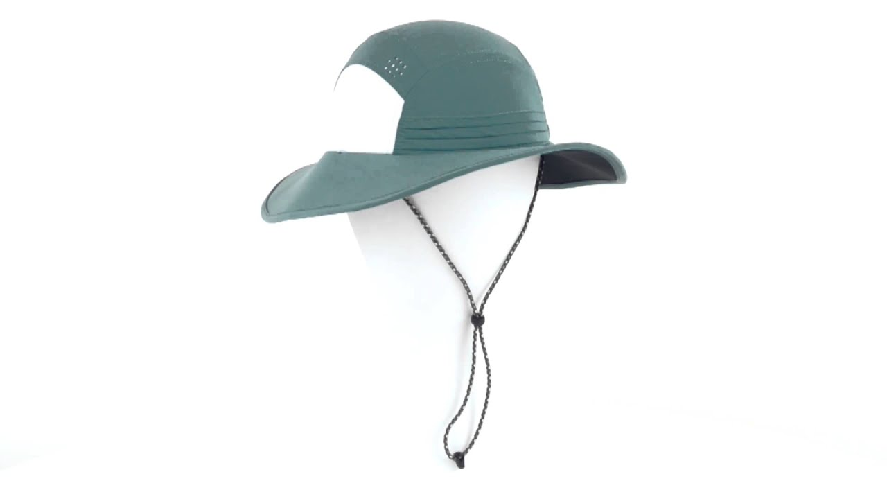 Mountain Hardwear Chiller Wide Brim Hat - UPF 50 (For Women) - YouTube 54b87c4853a