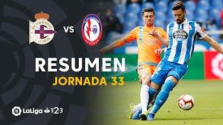 Resumen de RC Deportivo vs CF Rayo Majadahonda (0-2)