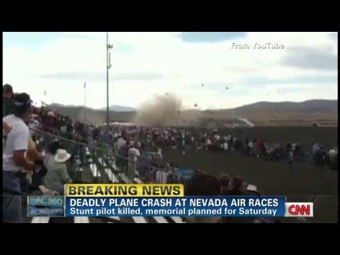 Nevada Air Show Witness: Pilot tried to save lives