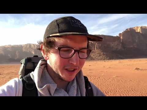 Crossing the Border from Israel to Jordan + the Desert
