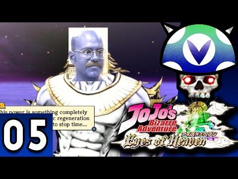 [Vinesauce] Joel - Jojo's Bizarre Adventure: Eyes of Heaven ( Part 5 )