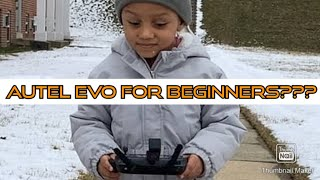 Autel Evo-Novice Mode/Start up time Quick tutorial. (subscriber requested video)