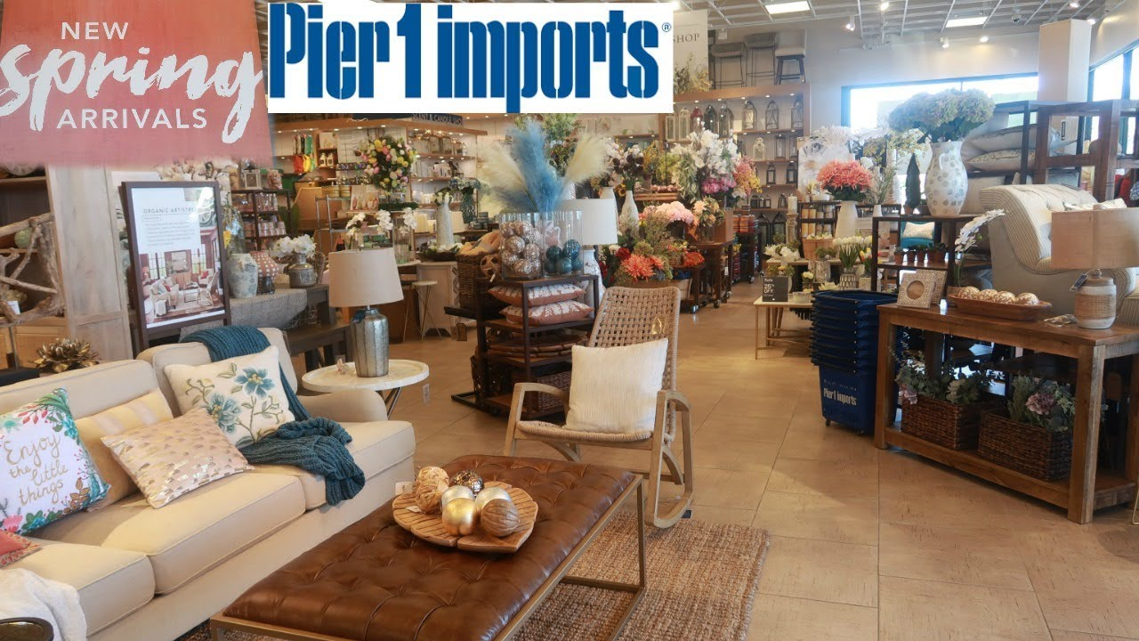 Pier 1 Imports New Spring Decor Shop With Me Youtube