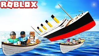 SURVIVE A SINKING SHIP IN ROBLOX
