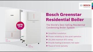 Bosch Greenstar | The World's Best Selling Residential Condensing Boiler System