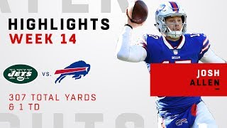 Josh Allen Highlights vs. Jets