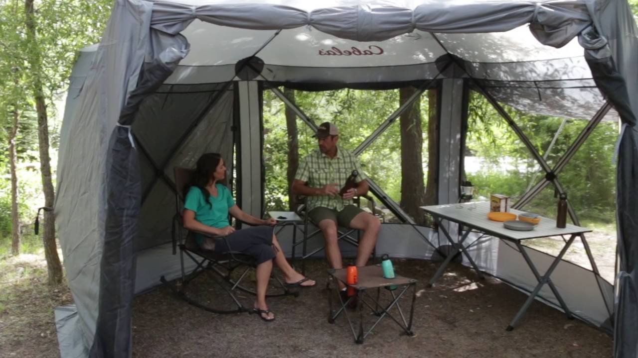 & Quick-Set Screen Shelter by Cabelau0027s | Camp Cabelau0027s - YouTube