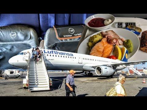 NICE EXPERIENCE! | Lufthansa | Business Class | A321 | Frankfurt - Heraklion