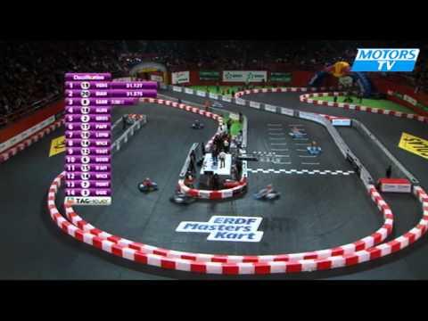 ERDF Masters Kart Paris Bercy saturday final