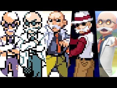 Evolution Of Gym Leader Blaine Pokémon Battles (1996 - 2018)