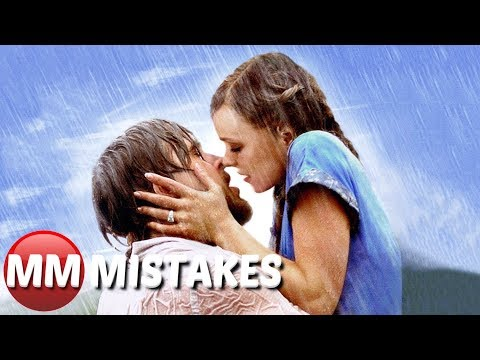 10 The NOTEBOOK MOVIE MISTAKES You Didn't Notice | The Notebook Movie Goofs