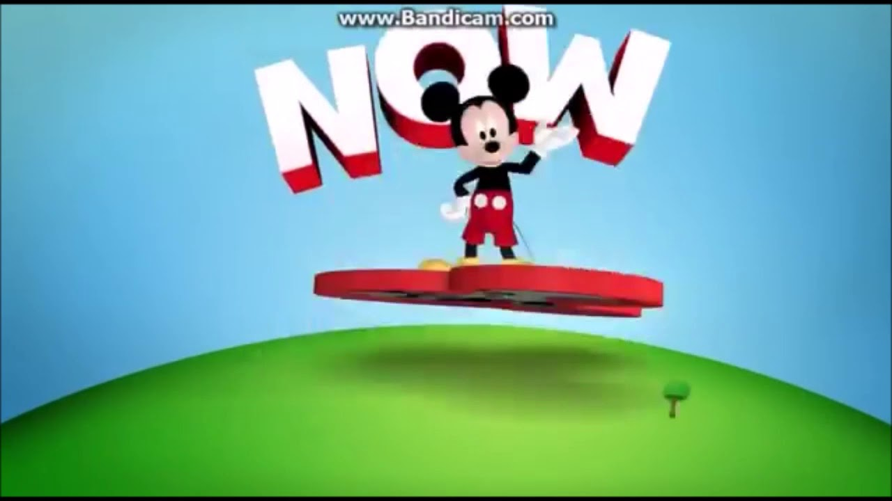 Now Mickey Mouse Clubhouse Disney Junior Daytime Variant