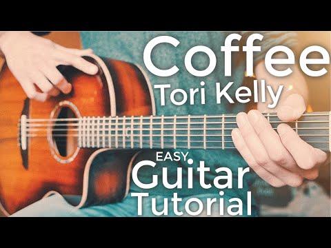 Coffee Tori Kelly Guitar Tutorial // Coffee Guitar // Guitar Lesson #717