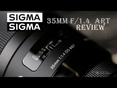 Sigma 35mm f/1.4 DG HSM ART Review -  in a Snowstorm!