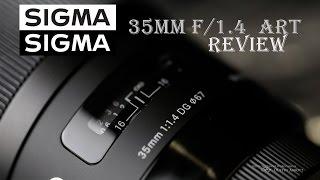 Sigma 35mm f/1.4 DG HSM ART Review -  in a Snowstorm!