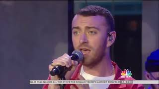 Sam Smith - Too Good At Goodbyes (Live On Today Show 11/8/2017)