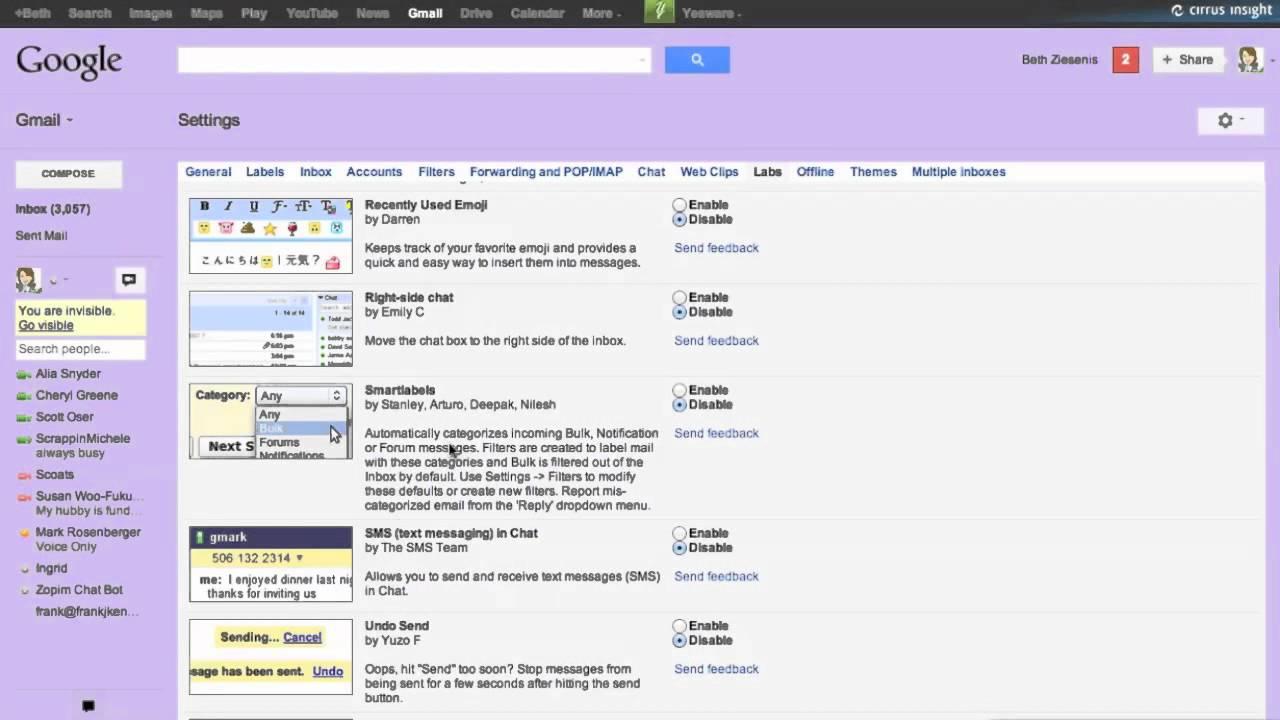 Gmail theme addon - Gmail Addons
