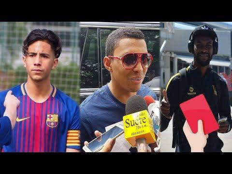 TREMENDO CRACK ECUATORIANO BRILLA EN EL F.C BARCELONA | CARCELÉN EXPULSADO | HABLÓ JEFF. MONTERO