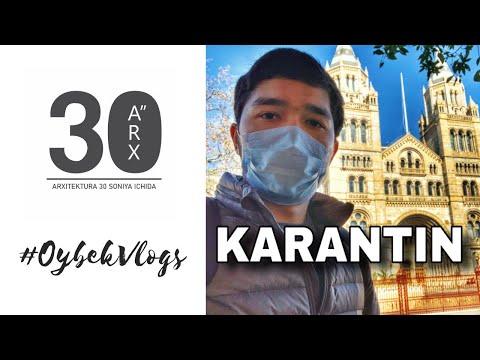 Koronavirus. Karantindagi O'qish 😷. #uydaqoling #stayhome #OybekVlogs #ARX30