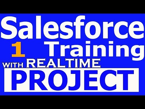 Salesforce Training Videos 1 For Beginners With RealTime Projects Salesforce Demo +918886552866