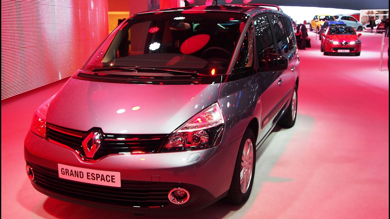 2014 renault grand espace 2 0 dci 175hp youtube. Black Bedroom Furniture Sets. Home Design Ideas