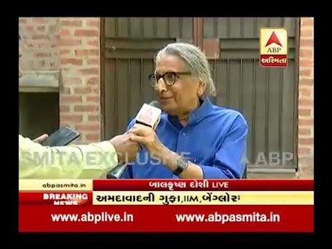 Architect Balkrishna Doshi's First Reaction After Got Pritzker  Architecture Prize