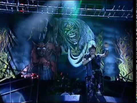 Iron Maiden - The Number of the Beast (Live in Brasil 2001)